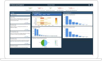 IBM Maximo trial screenshot