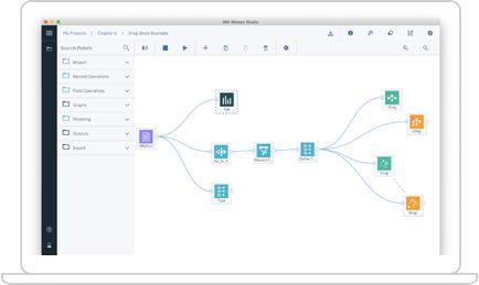 Schermata di IBM Watson Studio