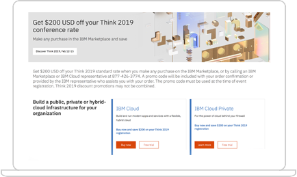 Special offer on Think 2019