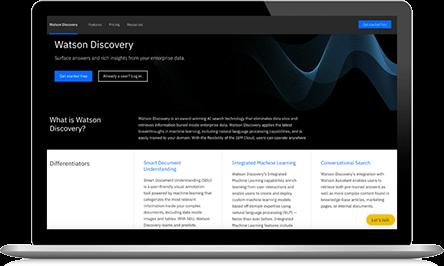 Watson Discovery screenshot