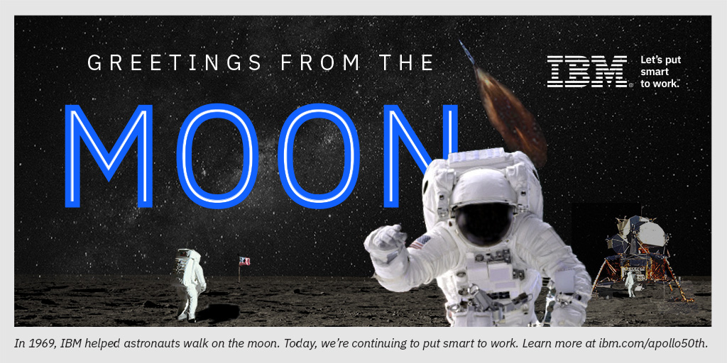 50 years ago, astronauts walked on the moon