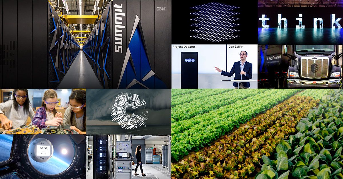 The Best of IBM 2018: a year of big thinking