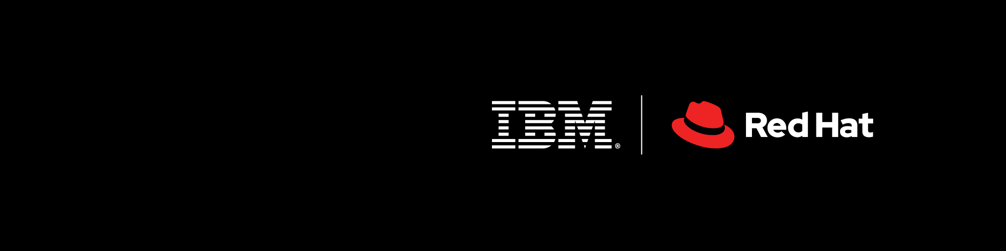 Logo Red Hat z IBM