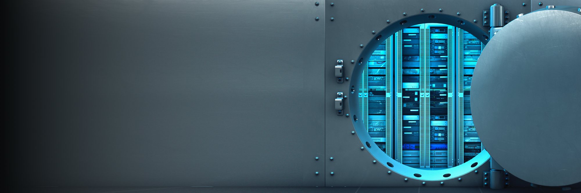 A safe door