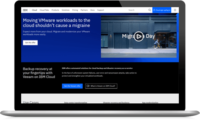 VMware Cloud IBM Solutions