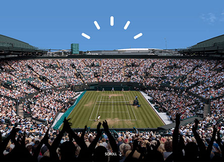 51a1264a1 While players play and the world watches, IBM and Wimbledon put smart to  work