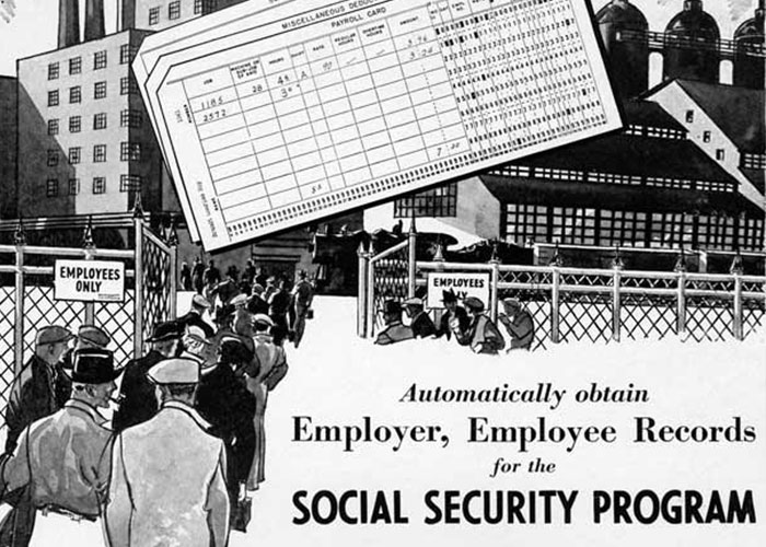 Social Security, made possible by IBM