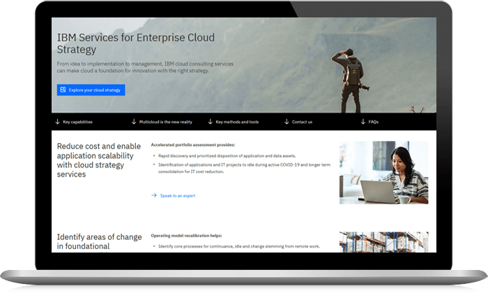 IBM Services for Enterprise Cloud Strategy