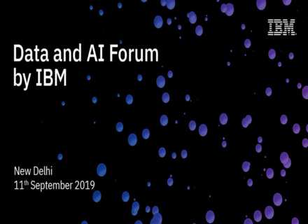 youtube -  Data and AI Forum New Delhi