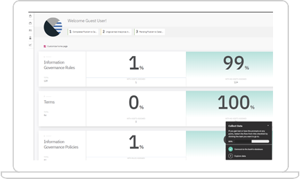 IBM Cloud Pak™ for Data screenshot