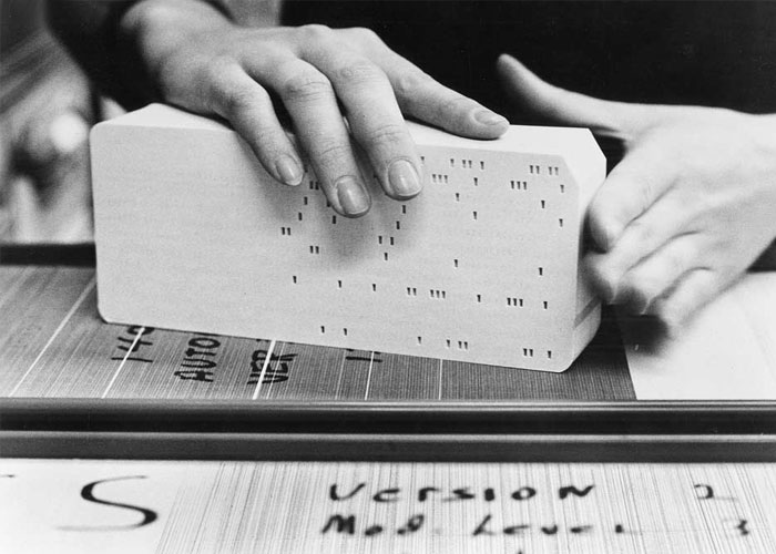 The punch card and the US Census