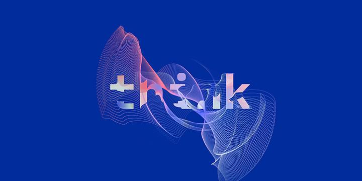 think 2020 logo and branding