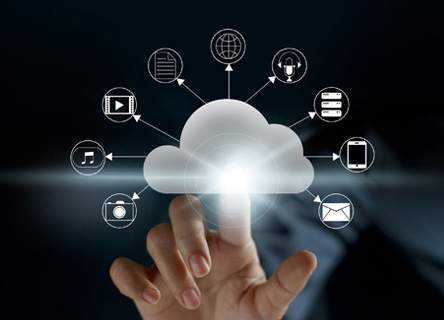 Cloud system connected with every technology