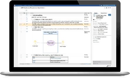 IBM Engineering Requirements Management DOORS Next trial screenshot
