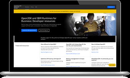 IBM Runtimes for Business screenshot
