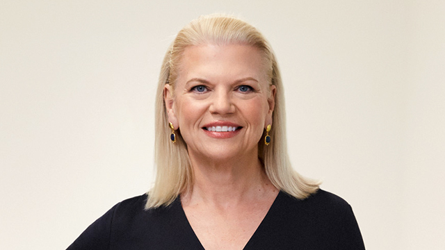 IBM - Ginni Rometty - Chairman, President and Chief Executive Officer