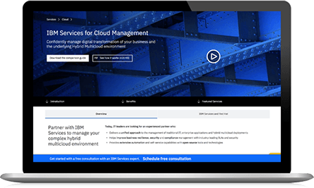 IBM Services für Cloud-Management