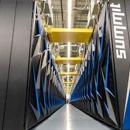 row of IBM supercomputers