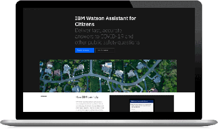 IBM Watson Assistant for Citizens
