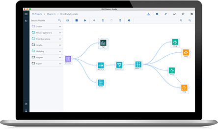 Screenshot of IBM Watson Studio