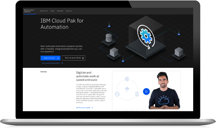 IBM Cloud Pak for Automation