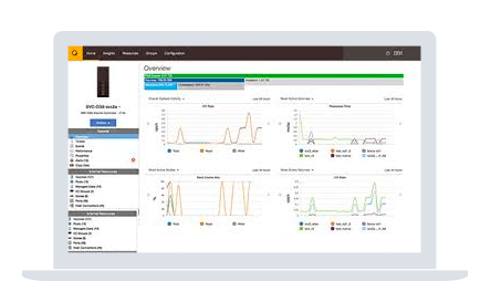 Screenshot of IBM Storage Insights