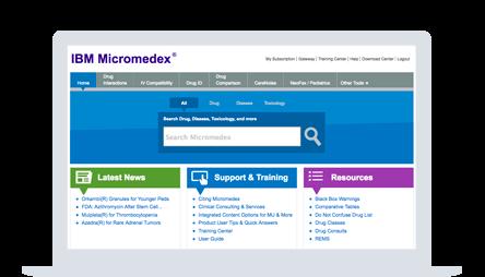 IBM Micromedex with Watson