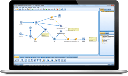 IBM SPSS Modeler screenshot