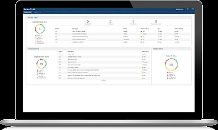Capture d'écran d'IBM Control Desk