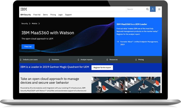 IBM Security MaaS360 with Watson
